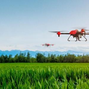 Dron Inteligente Fumigación y Siembra