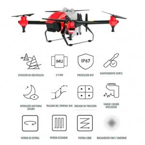 Dron Inteligente para Fumigación, Siembra y Desinfección