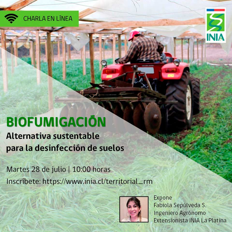 Webinar INIA Biofumigación como alternativa sustentable para la desinfección de suelos