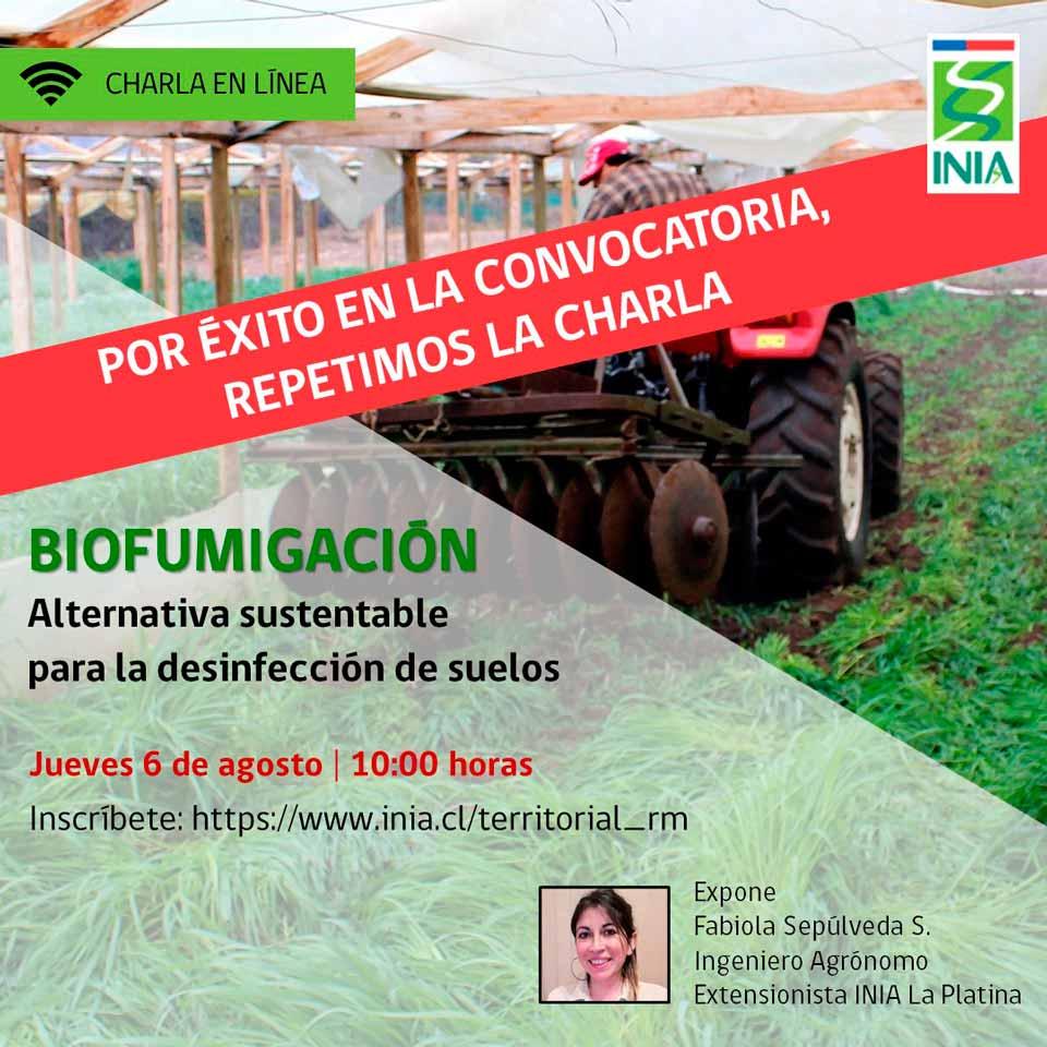 Biofumigación como alternativa sustentable para la desinfección de suelos