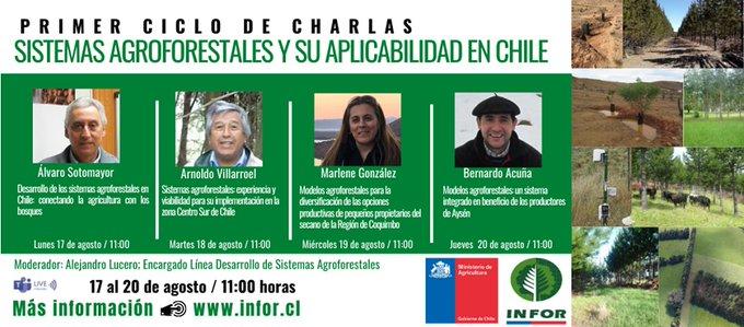 Webinar INFOR | Sistemas agroforestales y su aplicabilidad en Chile