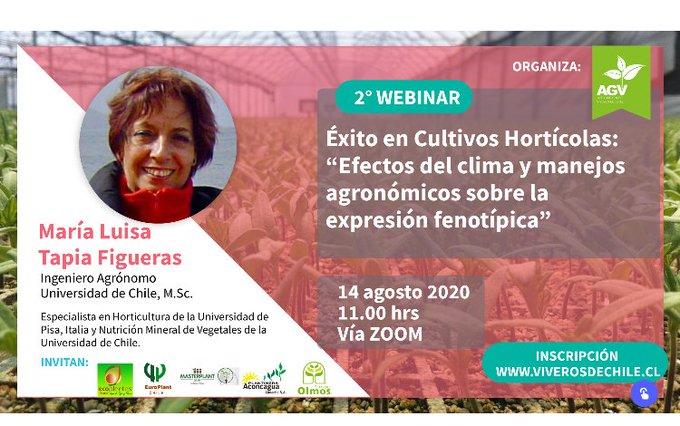 Webinar Viveros de Chile | Éxito en Cultivos Hortícolas