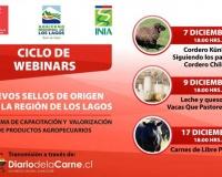 Organizan ciclo de webinars sobre nuevos sellos de origen para la Región de Los Lagos