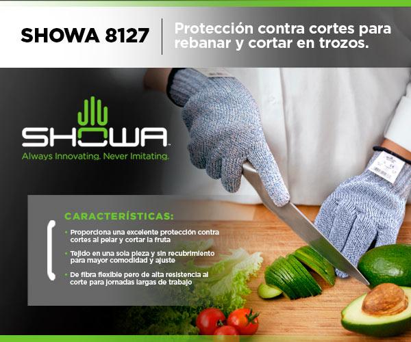 guantes detrabajo protección cortes SHOWA