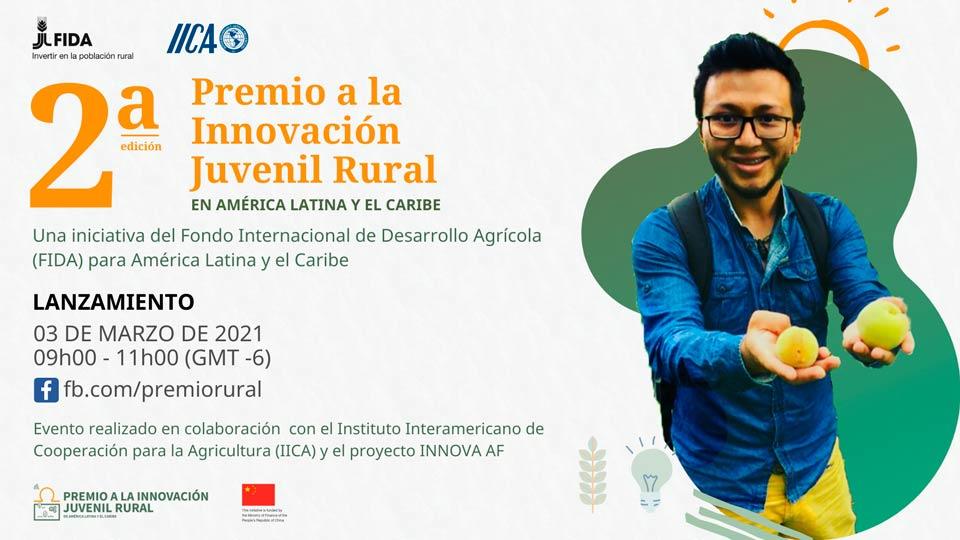 Lanzamiento: Premio a la Innovación Juvenil Rural en América Latina y el Caribe