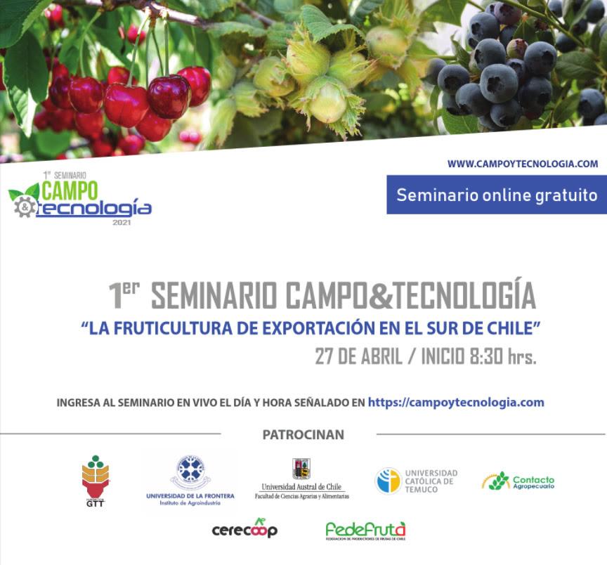 27 de abril: 1er Seminario Campo&Tecnología:
