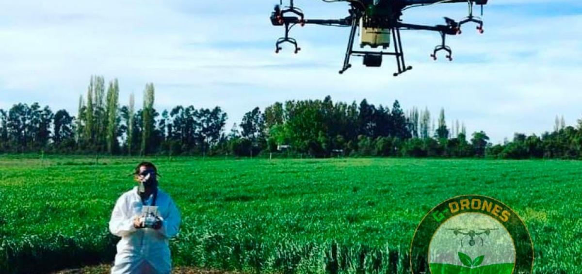 Dron Inteligente para Fumigación, Siembra y Desinfección GUTIS DRONES