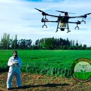 Dron Inteligente Fumigación, Siembra y Desinfección